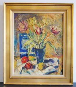 """EINAR JOHANSEN(1893-1965) """"STILL LIFE"""""""