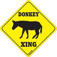 Donkey Xing Sign