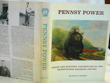 Alvin Staufer. Pennsy Power Steam & Electric Locomotives First Ed 1962 DJ