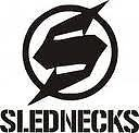 "SLEDNECKS LOGO BLACK   8"" x 9"" 75413"