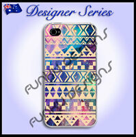 For iPhone 4 4S case cover Art Collection Classic Aztec Galaxy Tribal 5