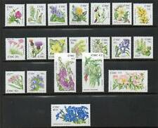 Ireland 2004 Flowers definitives SG 1665/89 MNH