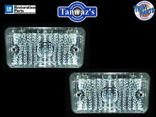 70 Chevelle SS Parking Turn Light Lamp Lenses CLEAR Pair W/ Gaskets