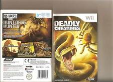 DEADLY CREATURES NINTENDO WII PLAY AS A SPIDER AND A SCORPION