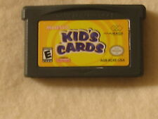 Kid's Cards - GBA - Game Boy Advance