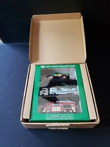 2017 HESS MINI TRUCK COLLECTION MINT