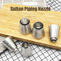 Cookie Cupcake Sultan Tube Russian Pastry Tip Icing Piping Nozzles Baking Tool