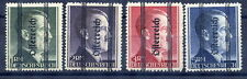 AUSTRIA 1945 1-5 RM  with vertical overprint and bars Type I MNH/**. Certificate