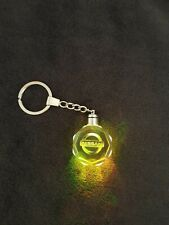Nissan Keyring LED Keychain Glass Crystal Flashing Car Logo