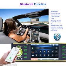 4019B 1 DIN HD Car Voiture Autoradio DVD Lecteur Bluetooth MP5 Player FM AUX USB