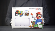 Nintendo 3DS Super Mario 3D Land Pack White Console with Game - 'The Masked Man'