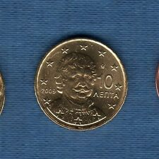 Gréce - 2009 - 10 centimes d'euro - Pièce neuve de rouleau -