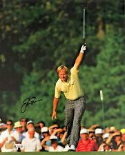 Jack Nicklaus Signed 16x20 Photo 1986 Masters Win - Fanatics Golden Bear