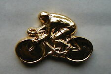 Italy vintage golden PIN sport CYCLING Bicycle
