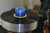 Turntable strobo scope record weight (Blue) speed check when playing LP, strobe