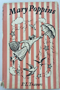 Mary Poppins by P L Travers 1965 Edition Vintage Hardcover