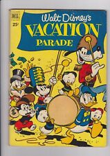 Dell Giant Walt Disney's Vacation Parade #2, 1951 Dell Comics nice VG+