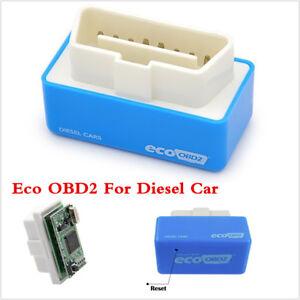 Blue Eco OBD OBD2 Economy Fuel Saver Tuning Box Chip For Diesel Car Gas Saving