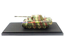 New 1/72 Diecast Tank German PzKpfw V PANTHER Sd Kfz 171 w Case WWII Military