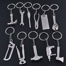 Spanner Tool Keychain Keyfob Adjustable Cute Model Keyring Gifts Metal Wrench