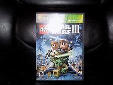 LEGO Star Wars III: The Clone Wars (Microsoft Xbox 360, 2011) EUC