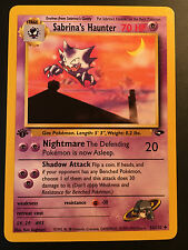 Carte Pokemon SABRINA'S HAUNTER 55/132 Unco Gym Challenge EDITION 1 NEUF