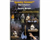 Halloween Decoration Spooky Scenes Dungeon Wall Enhancers 8 Life Size in Pack