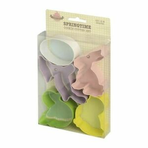 Eddingtons Animals/Spring/Easter Cookie Cutter Set of 5 Biscuit Metal Cutter