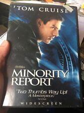 Minority Report Widescreen Dvd