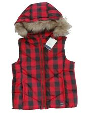 NWT Gap Kids Boys Girls Vest Holidays Regular Detachable Faux Fur Large L 10