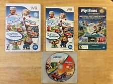 My Sims Racing  & My Sims Collection Nintendo Wii System Complete 2 Games in One