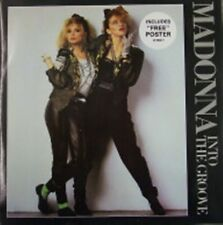 "Madonna, Into The Groove, NEW/MINT RARE Original UK 12"" vinyl single WITH POSTER"