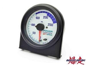NEW APEXi POWER METER 250ps GAUGE FOR HONDA MITSUBISHI TOYOTA NISSAN SUBARU