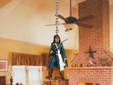 PIRATES OF THE CARIBBEAN JACK SPARROW Ceiling Fan Pull Light Lamp Chain A146