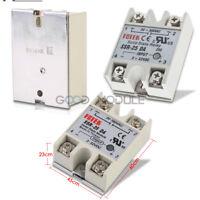 1/2/5/10PCS SSR-25 DA Solidstate Relay PID Temperature Controller 24V-380V 25A
