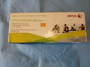 Xerox 006R03184 Remanufactured CF212A (131A) Yellow Toner For HP M251 M276