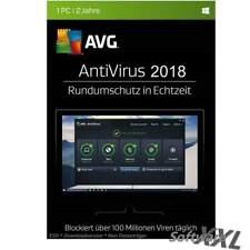 AVG AntiVirus 2017 / 2018 * 1 PC * 2 Jahre * Vollversion * Lizenz