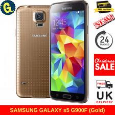 Samsung Galaxy S5 SM-G900F - 16GB - Copper Gold (Unlocked) Smartphone