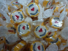 50 X JUST MARRIED SWEETS TRADITIONAL WEDDING FAVOURS