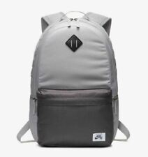 "NIKE SB ICON BACKPACK 15"" Laptop BAG 26L School Gym BA5879-701 NEW Gray"