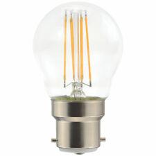 2 X LAP BC MINI GLOBE LED LIGHT BULB 470LM 4.5W