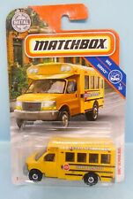 28742 MATCHBOX / CARTE US / MBX SERVICE 2019 / GMC SCENIC SCHOOL 1/64