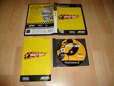 CRAZY TAXI DE SEGA - ACCLAIM PARA LA SONY PS2 USADO COMPLETO