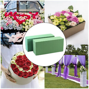 Flower Arrangement Tools Green Lower Mud Floral Sponge Bricks Blocks Fresh UK