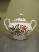 Johnson Brothers Staffordshire Bouquet Sugar Bowl with lid made in England