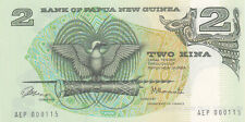 2 KINA  AUNC-UNC BANKNOTE FROM PAPUA NEW GUINEA 1981 PICK-5a