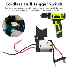 7.2V-24V Li Battery Cordless Drill Speed Control Trigger Switch With Small Light