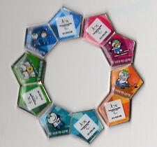 PYEONGCHANG 2018. PARALYMPIC GAMES SPONSOR PIN.KEB. KOREA BANK. PUZZLE OF 5 PINS