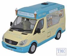 WM007 Oxford Diecast o Picadilly FRUSTA WHITBY MONDIAL Gelato Van Mercedes