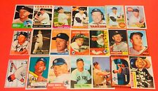 MICKEY MANTLE~21 Card Reprint Set~1951-1969~Every Base Card Made ~Topps~Bowman